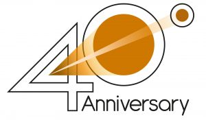 Logo 40° anniversario DTS